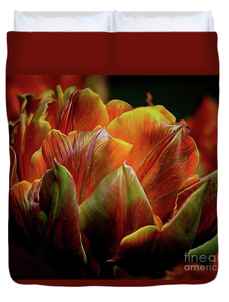 Extraordinary Passion Duvet Cover by Diana Mary Sharpton