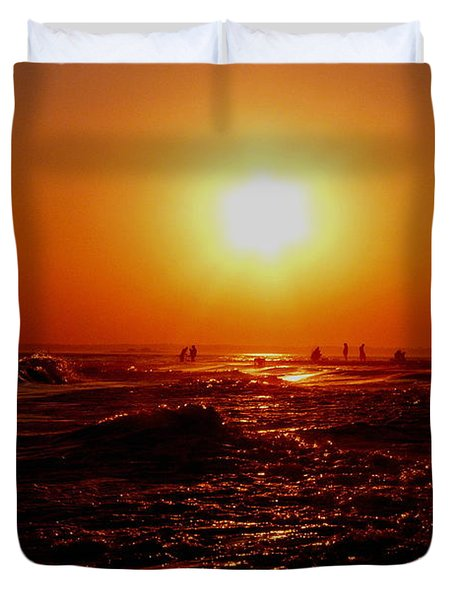 Extreme Blazing Sun Duvet Cover by Kendall Eutemey
