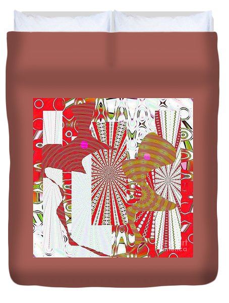 Extreme Love Duvet Cover by Navo Art