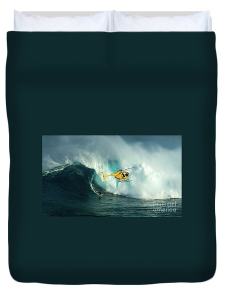 Extreme Surfing Hawaii 6 Duvet Cover