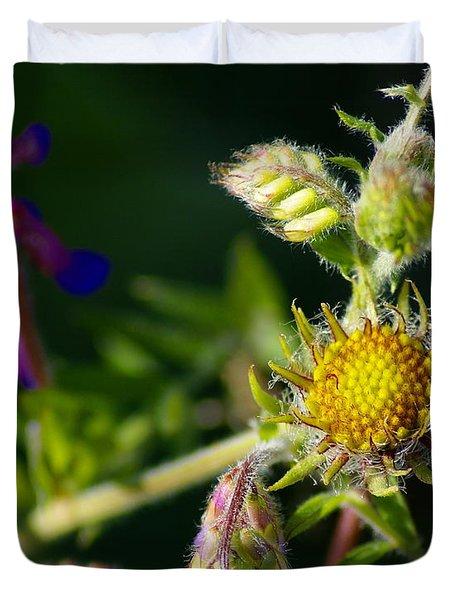 Eye Candy From The Garden Duvet Cover