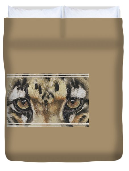 Eye-catching Clouded Leopard Duvet Cover