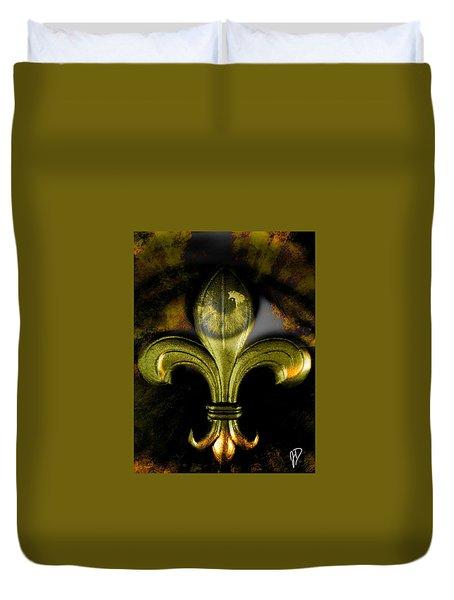 Eye Fleur De Lis Duvet Cover