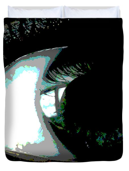 Eye Formation Duvet Cover