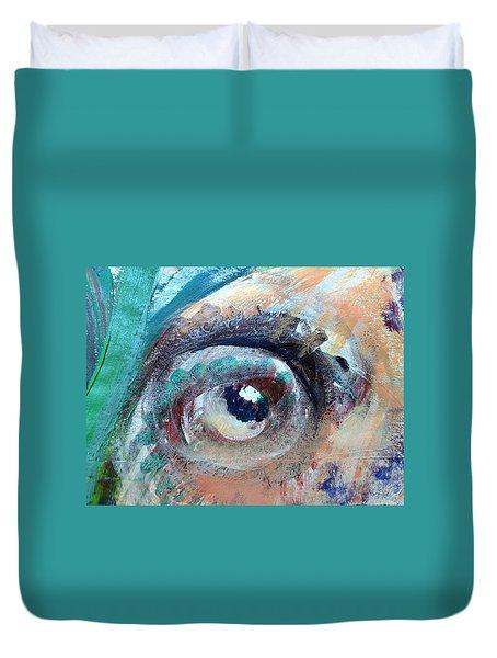 Eye Go Slow Duvet Cover
