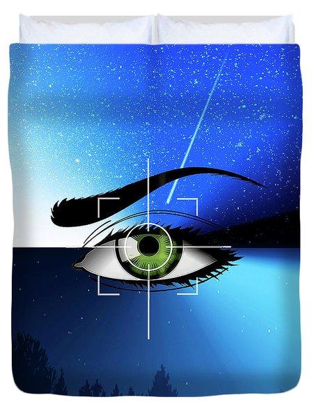 Eye In The Sky Duvet Cover