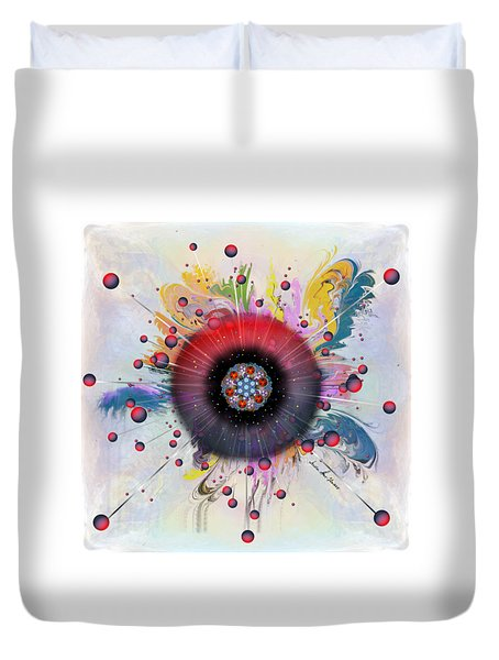 Eye Know Light Duvet Cover