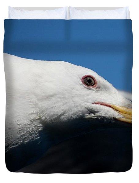 Eye Of A Seagull Duvet Cover