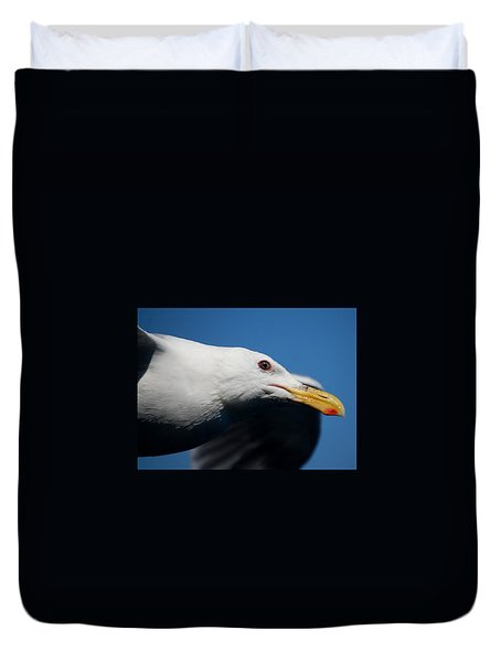Eye Of A Seagull Duvet Cover