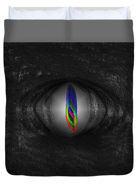 Eye Of The Beast Duvet Cover