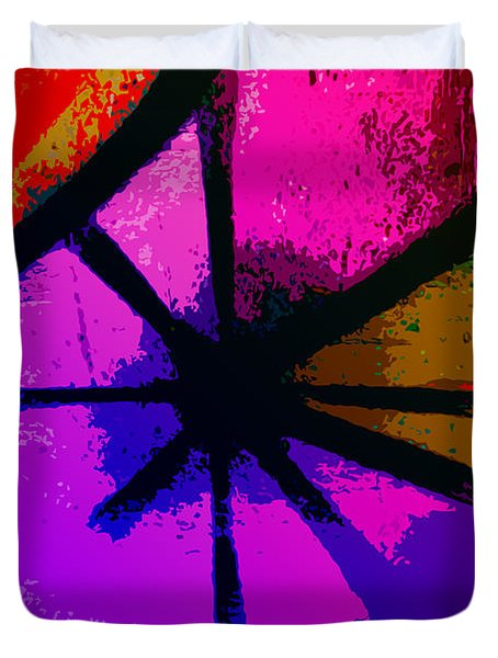 Eye Of The Beholder Duvet Cover by Bill Cannon
