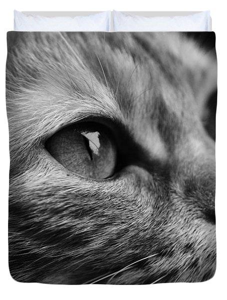 Eye Of The Cat Duvet Cover