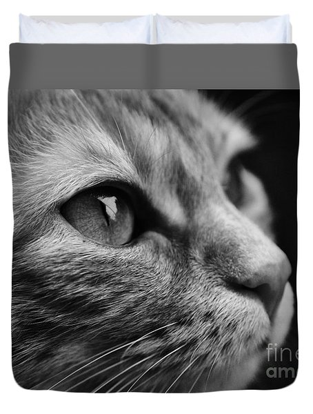 Eye Of The Cat Duvet Cover