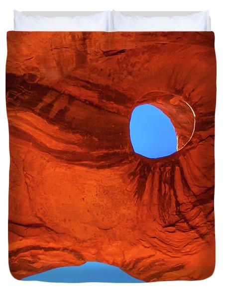 Eye Of The Eagle Duvet Cover