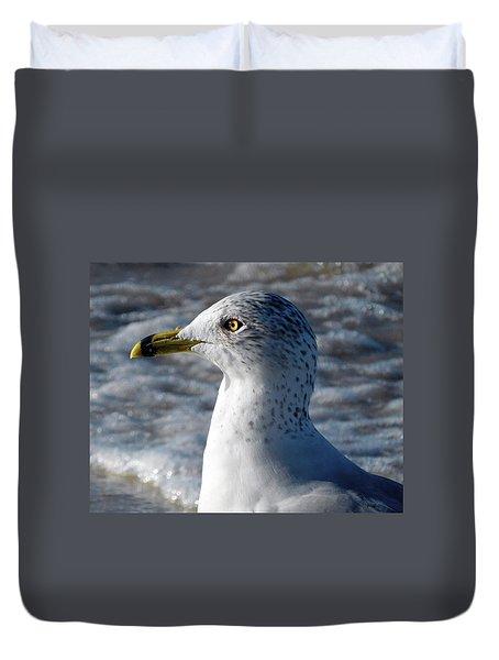 Eye Of The Gull Duvet Cover