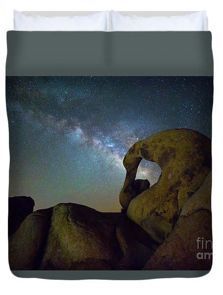 Eye Of The Milky Way Duvet Cover