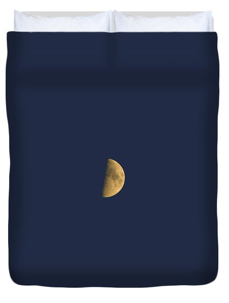 Duvet Cover featuring the photograph Eye Of The Night by Alexey Kljatov