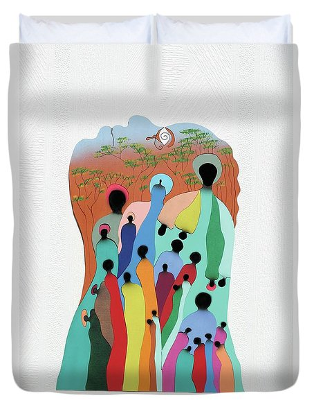 Eye Of The Spirit Duvet Cover