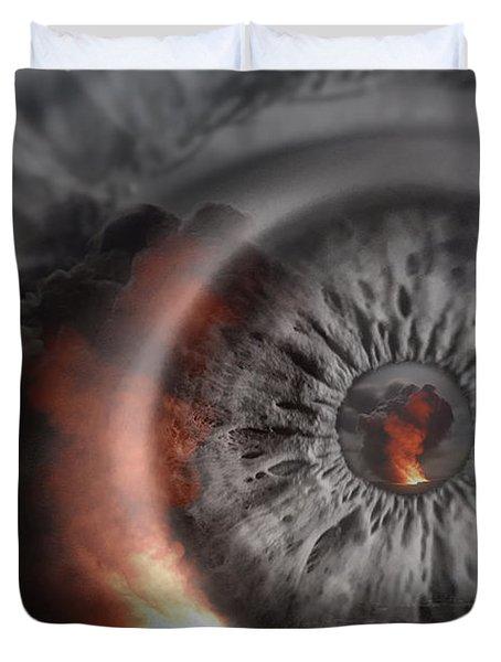 Eye Of The Storm Duvet Cover