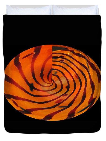 Eye Of The Tiger Duvet Cover
