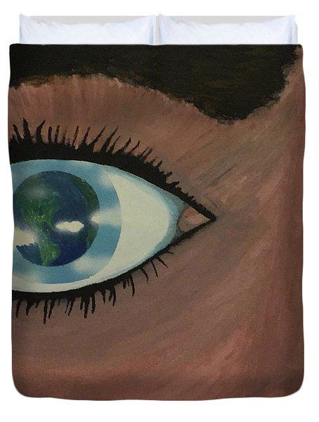Eye Of The World Duvet Cover