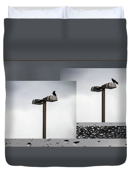 Eye On The Crow -  Duvet Cover