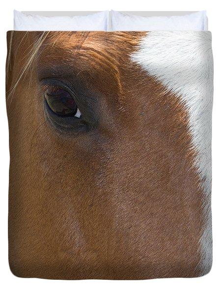 Eye On You Horse Duvet Cover
