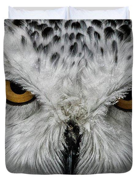 Eye-to-eye Duvet Cover