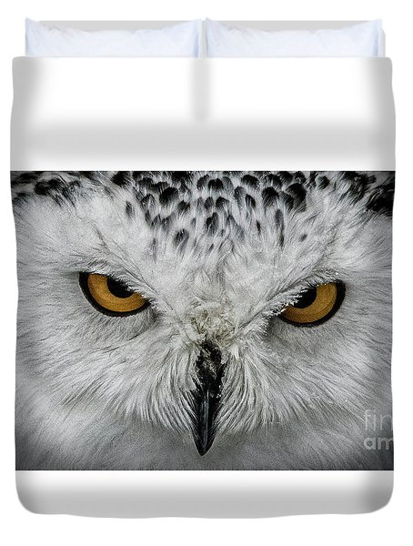 Eye-to-eye Duvet Cover