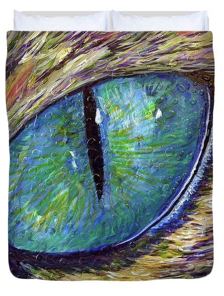 Eyenstein Duvet Cover