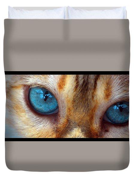 Eyes 1b Duvet Cover