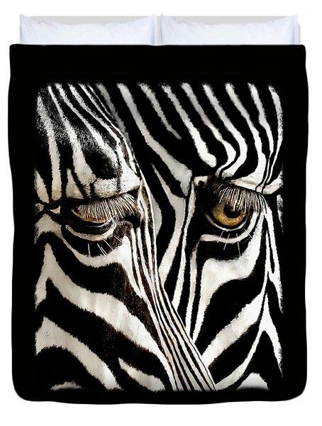 Eyes And Stripes Forever Duvet Cover