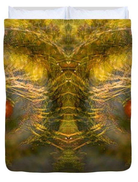 Eyes Of The Garden-1 Duvet Cover