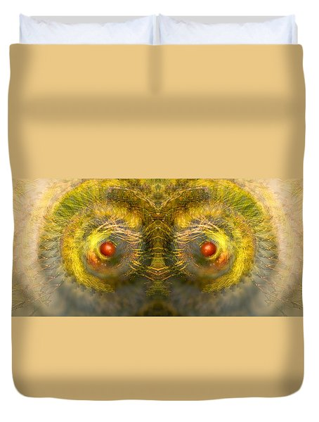 Eyes Of The Garden-1 Duvet Cover