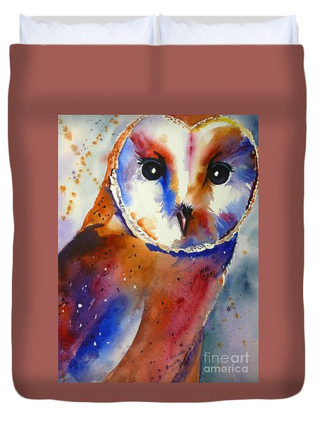 Eyes Of The Guardian Duvet Cover