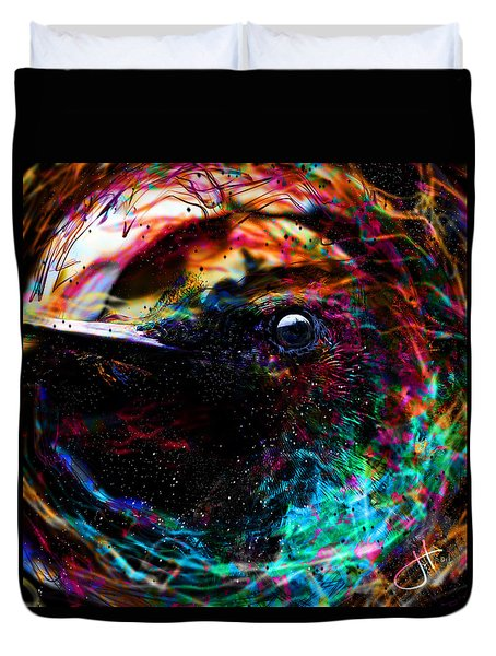 Eyes Of The World Duvet Cover