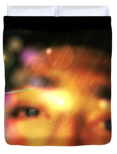 Eyes To The Soul Duvet Cover