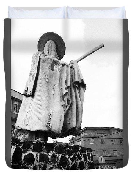 Eyo Statue, Idumota Duvet Cover