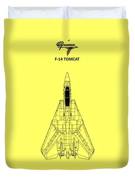 F-14 Tomcat Duvet Cover