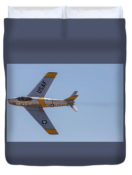 F-86 Jolley Roger Duvet Cover