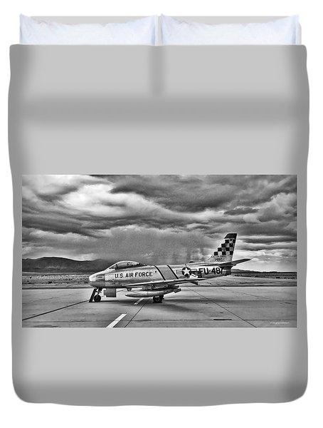 F-86 Sabre Duvet Cover