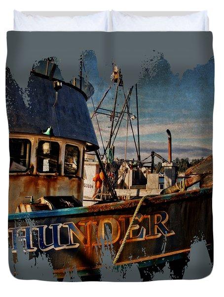 F/v Thunder Duvet Cover