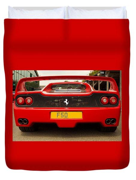 F50 Tail Duvet Cover