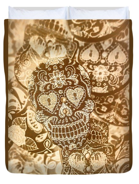 Fabric And Folklore Duvet Cover