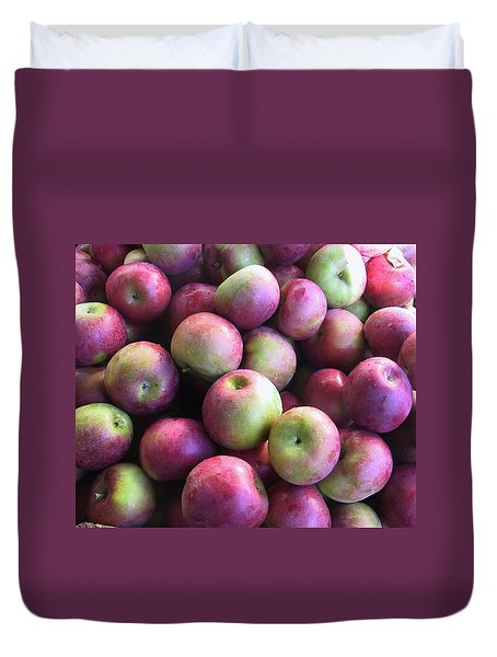 Fabulous Fall Fruits Duvet Cover
