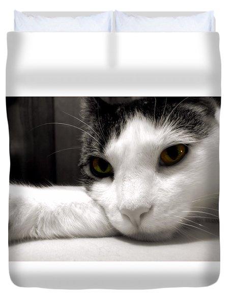 Fabulous Feline Duvet Cover