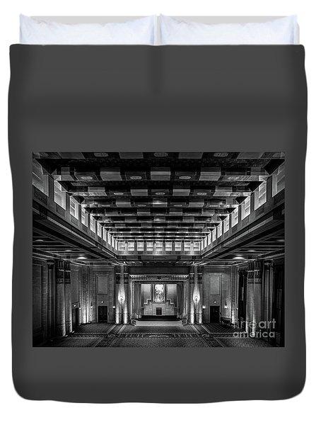 Fabulous Fox Theater Atlanta Egyptian Ballroom Duvet Cover