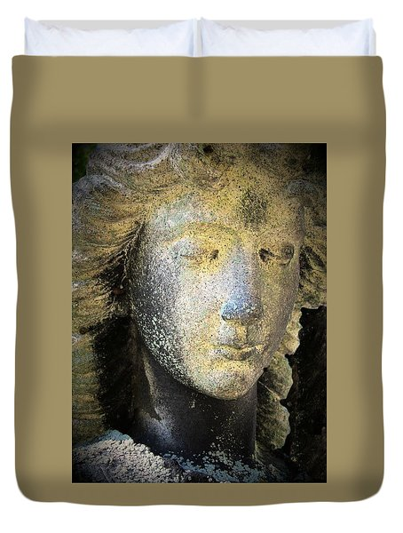 Face Of An Angel 10 Duvet Cover by Maria Huntley