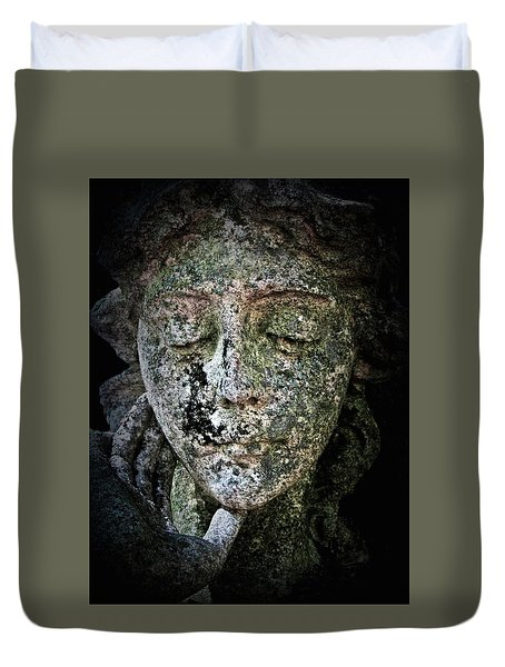 Face Of An Angel 11 Duvet Cover by Maria Huntley