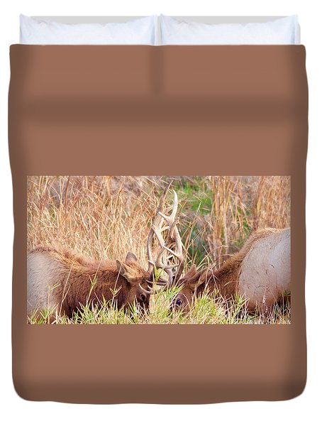 Face Off Duvet Cover